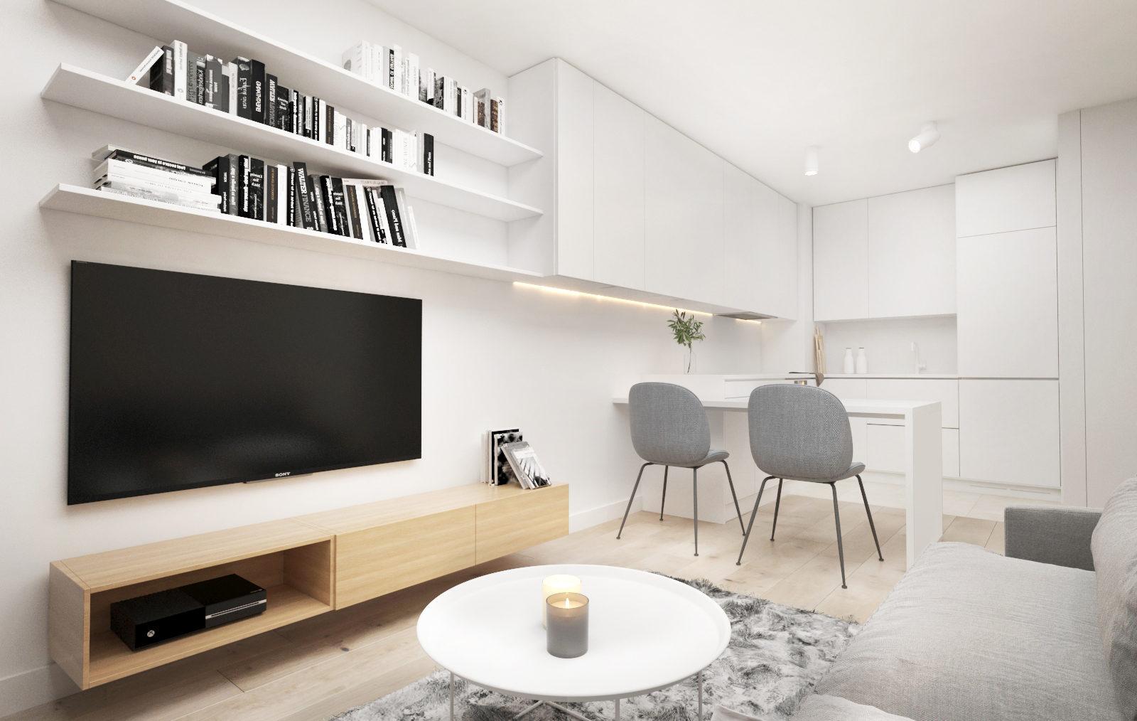 Mieszkanie 2 pokoje, Gdańsk ul. Pastelowa - 36,14 m2