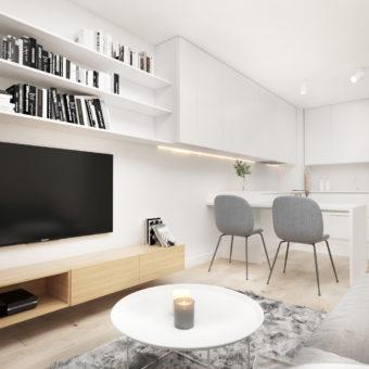 Mieszkanie 2 pokoje, Gdańsk ul. Pastelowa – 36,14 m2