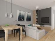 Mieszkanie gotowe do odbioru, 2 pokoje, Gdańsk ul. Flisykowskiego – 43,30 m2